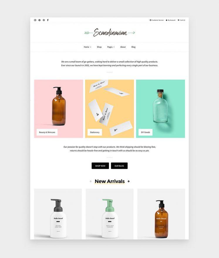 Scandinavian - Alternative home page